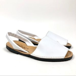 IBICENCA by BNK Leather Avarca Sandals Size 38 (8)